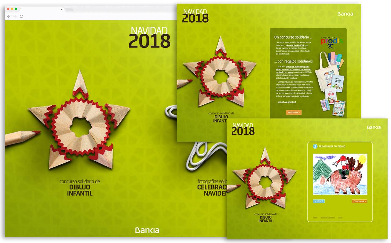 Concurso de Xmas Bankia