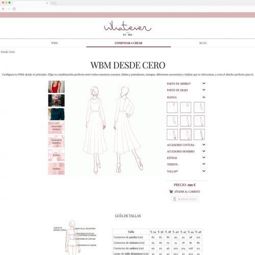 Tienda online - Whatever by Me